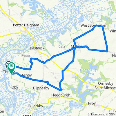 The Staithe, Thurne to Church Road 1-4