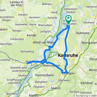 Linkenheim - Deutsch-Französische Familientour