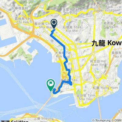 香港 to Unnamed Road