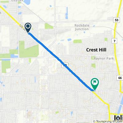 Plainfield Road 2209, Crest Hill to Ruby Street 700, Joliet