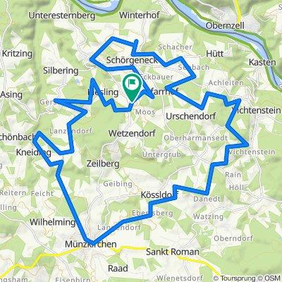 🚴♂️E*MTB 🇦🇹 Rundtour ein wirrwarr im Sauwald mit 🎥04.09.20.