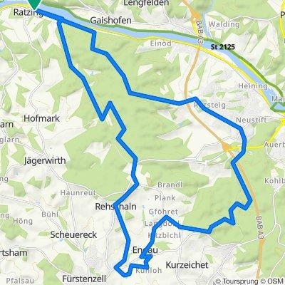 🚴♂️E*MTB 🇩🇪 Heiligenbrunn –1 Teil von Seestetten-schattige Runde schönes Bacherl mit 🎥12.08.20.