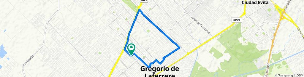 De Fardman 3451, Gregorio de Laferrere a Fardman 3494, Gregorio de Laferrere
