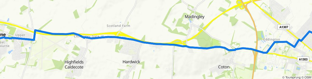 Cambourne Business Park 2030 to Garden Walk 24
