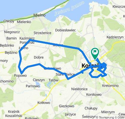 Bałtycka 11, Koszalin do Bałtycka 9, Koszalin