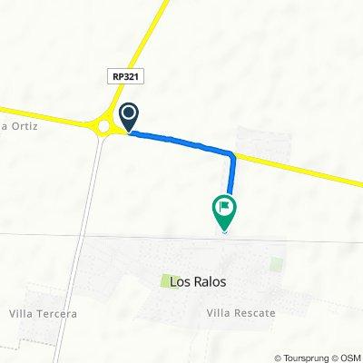 De RP303, Cruz Alta a Avenida Norte, Los Ralos