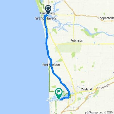 940 W Savidge St, Spring Lake to 571 Locust Dr, Holland