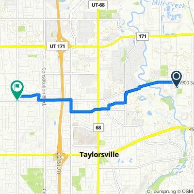 3951 S 700 W, Salt Lake City to 4078–4098 S 3200 W, West Valley City