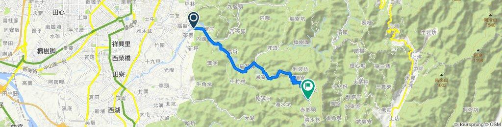 ㄧ江橋到赤崁頂