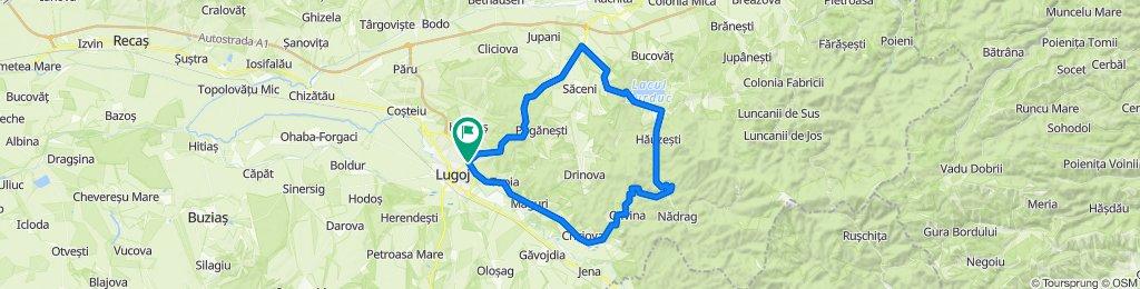 Circuit Lugoj Surduc Crivina Lugoj