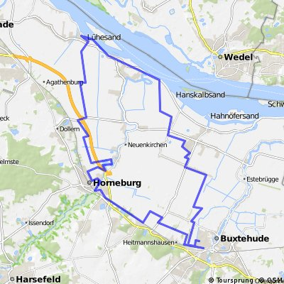 Die Elbe und deren Umgebung 2010
