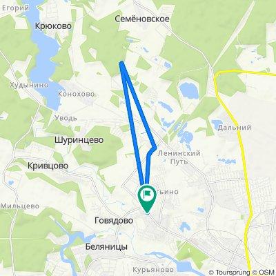 От Революционная улица, 24к2, Иваново до Революционная улица, 24к1, Иваново