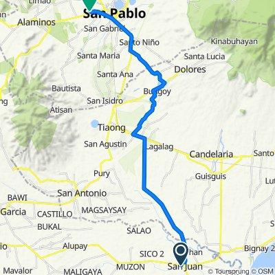 Kalayaan Street 312, San Juan to San Pablo City