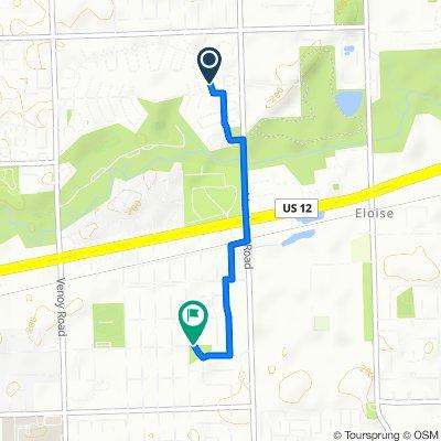 31809 Tuscola Ct, Westland to 4035 Gloria St, Wayne