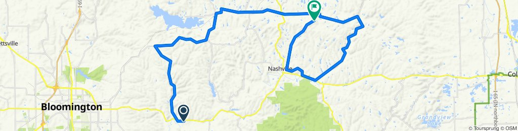 My house to Nashville and back