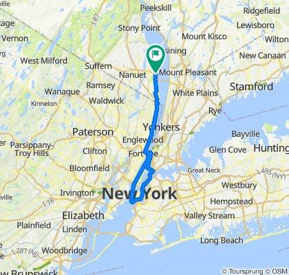 NYACK to NYC