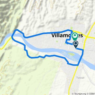 De Villa Montes a Avenida Heroes del Chaco, Villa Montes