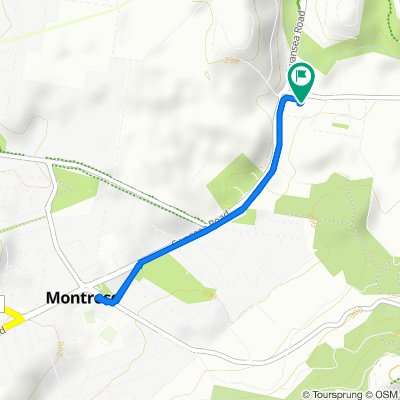 181 York Road, Montrose to 181 York Road, Montrose