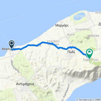 Unnamed Road, Mastichari nach Paleou Piliou, Kos