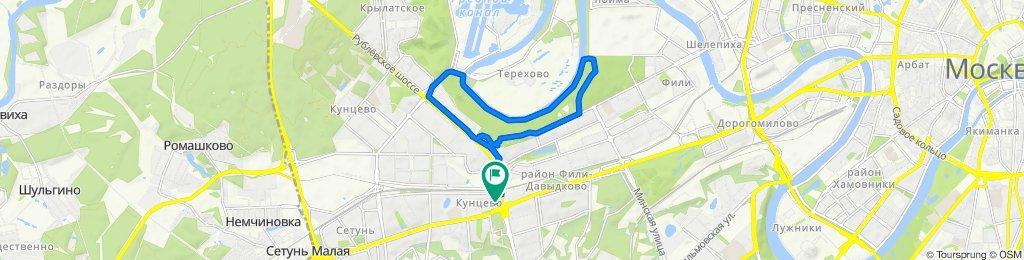 Можайское шоссе, 2Г, Moscow to Можайское шоссе, 2В, Moscow