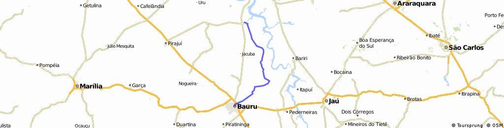 Bauru - Santelmo - Arealva - Iacanga
