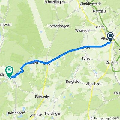 Bahnhofstraße 59, Brome nach Bromer Straße 1, Sassenburg