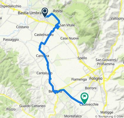 Da Viale Giosuè Carducci 37, Santa Maria degli Angeli a Unnamed Road, Montefalco