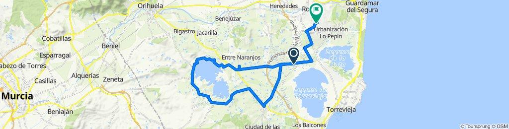 Calle Vía Agusta, Los Montesinos to Calle de Alta, 35A, Rojales