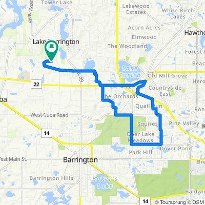 26774 W Lakeridge Dr, Lake Barrington to 26774 W Lakeridge Dr, Lake Barrington