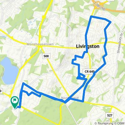 404 Turlington Ct, Livingston to 187–199 Turlington Ct, Livingston