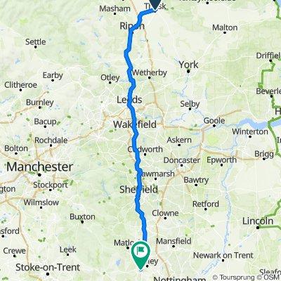 Original Route Of The M1