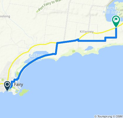 Ocean Drive, Port Fairy to 869 Princes Highway, Tower Hill