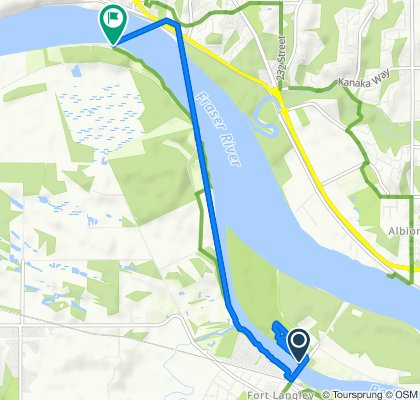 Glover Road, Langley Township to Trans Canada Trail 38, Langley City