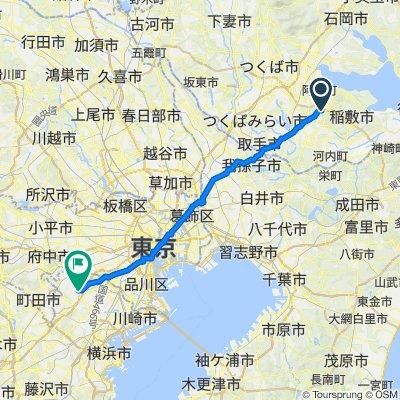 2083, Kunocho, Ushiku-Shi to 19-37, Utsukushigaoka 1-Chōme, Aoba-Ku, Yokohama-Shi