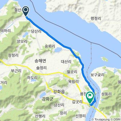 양사면 561 to 강화읍 1076−6