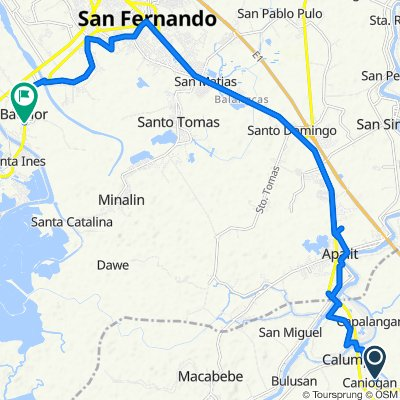 Unnamed Road, Calumpit to Unnamed Road, Bacolor