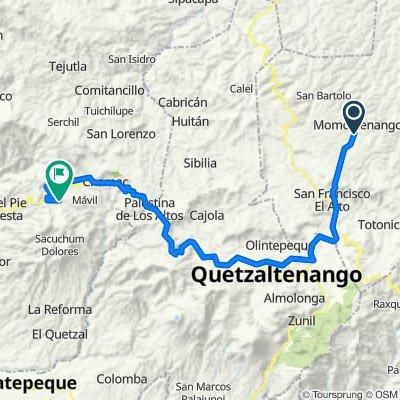 Vuelta a Guatemala inventada etapa 7 Momostenango, Xela, San Marcos, Esquipulas Palo gordo