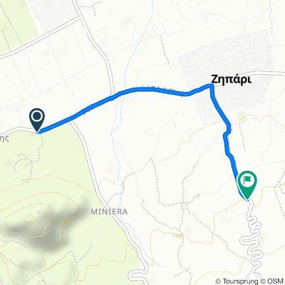 Route from Ko-Kefalou, Dikaio