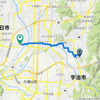Gokasho, Uji-Shi to 207-1, Hazukashishimizucho, Fushimi-Ku, Kyoto-Shi