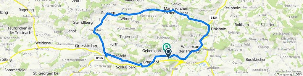 Bad Schallerbach Bhf R17 Rad-Vital entl. d. Polsenz