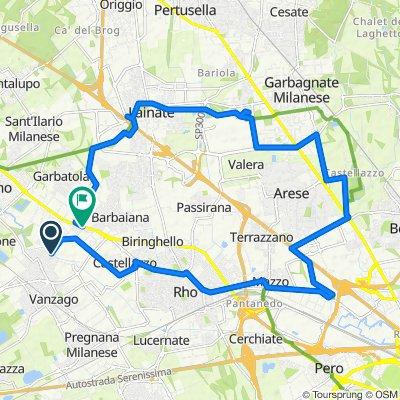 Da POGLIANO MILANESE - Via Oberdan fr Civ.10, Pogliano Milanese a Via Sempione 26, Pogliano Milanese