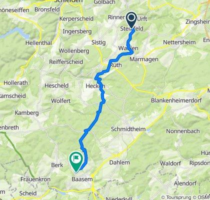Kloster Steinfeld nach Baasem