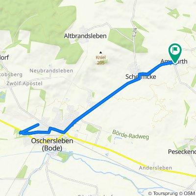 Am Denkmal 5, Oschersleben (Bode) nach Am Denkmal 5, Oschersleben (Bode)
