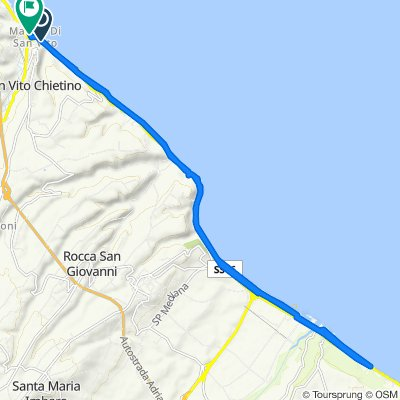 Da Via Sangritana 31, Marina di San Vito a San Vito Chietino, Marina di San Vito