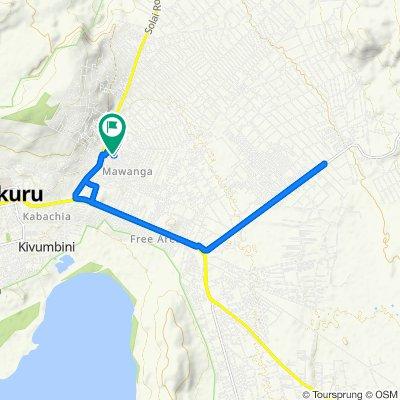 Unnamed Road, Mawanga to Unnamed Road, Nakuru