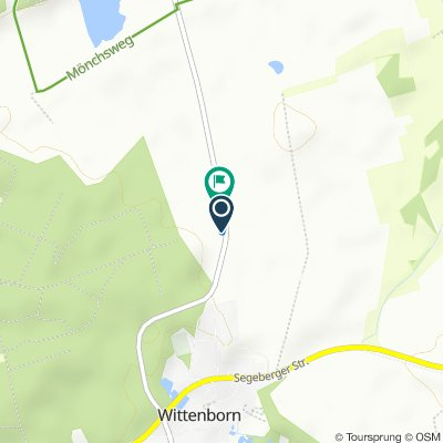K73, Wittenborn nach K73, Wittenborn