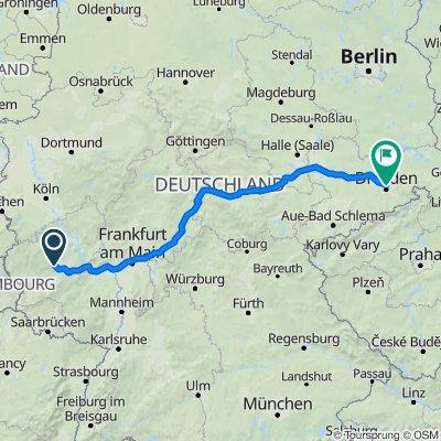 Zur Königslay 19, Bullay nach Fritz-Hoffmann-Straße 2, Dresden