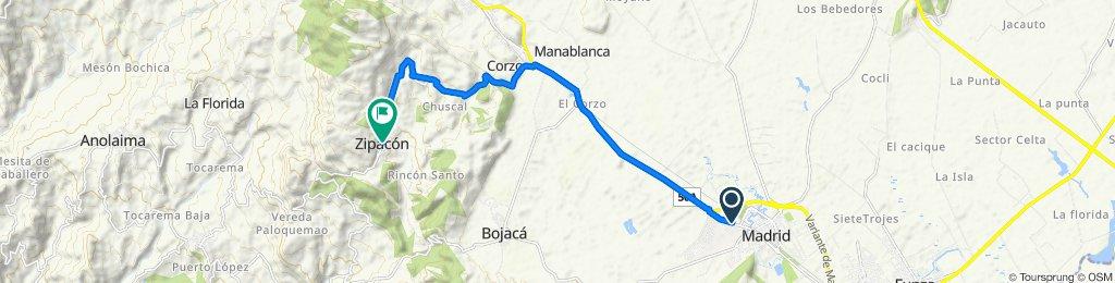 De Avenida Calle 7 14-1–14-99, Mosquera a Carrera 4 6-1–6-99, Bojacá