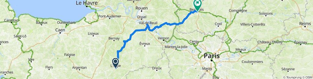 41T03 L'Aigle - Beauvais