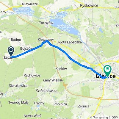 Jesionowa 4, Rudziniec do Ksawerego Dunikowskiego 5, Gliwice